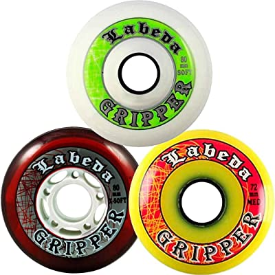 Labeda Gripper Inline Hockey Wheels : Sports & Outdoors