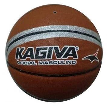 Bola Basquete Kagiva  Amazon.com.br  Esportes e Aventura 86dbf56743559