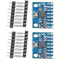 ButDillon 2Pcs GY-521 MPU-6050 I2C Modulo de 3