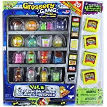 The Grossery Gang Season 1 Vile Vending Machine Package with 20 Exclusive Grosseries by Moose Toys