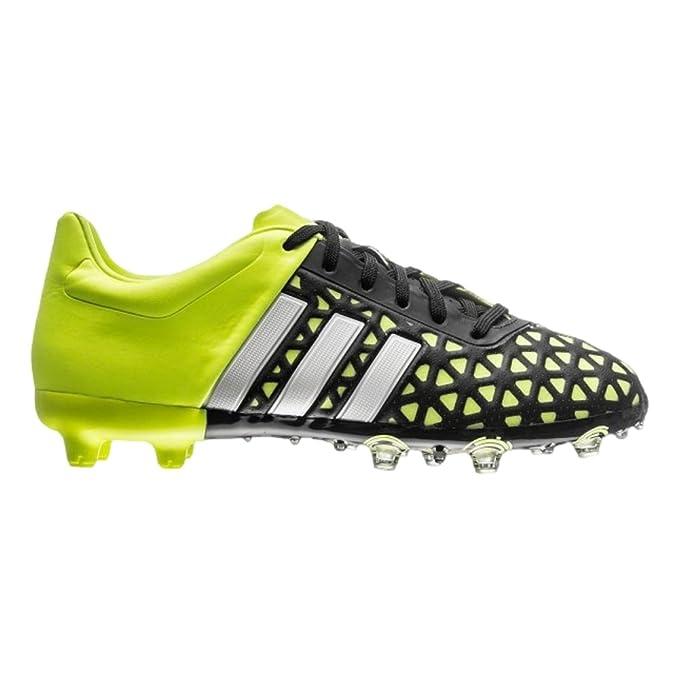 best website 8a57a ff762 Amazon.com : adidas ACE 15.1 FG/AG Junior - Black/White ...