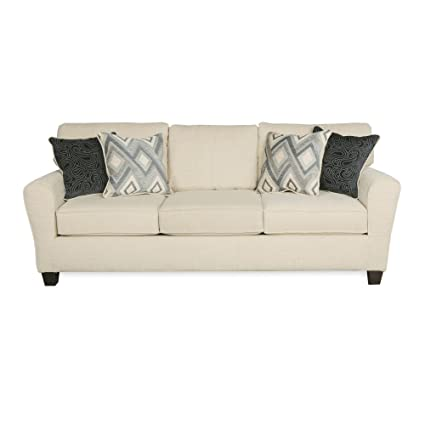 Madison 89u0026quot; 3 Seat Sofa With 4 Reversible Accent Pillows, Reversible  Back Cushions