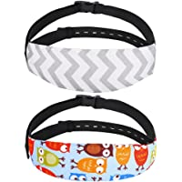 Accmor Baby Head Support Band Strap 2 Pack for Carseats Stroller Neck Relief Head Strap for Toddler Child Kids Infant…