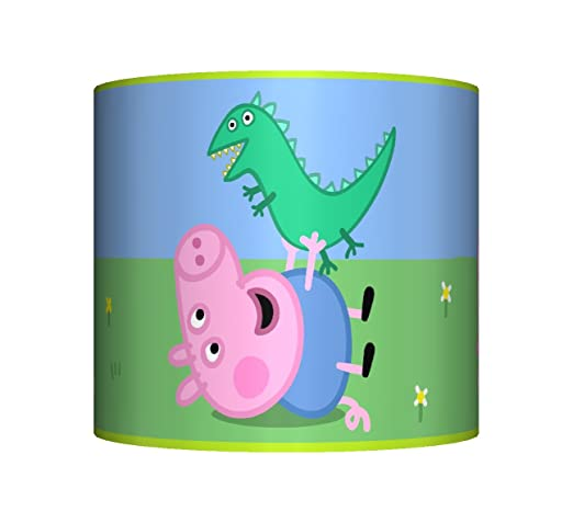 George peppa pig ceiling lampshade 10 drum boys bedroom lamp george peppa pig ceiling lampshade 10quot drum boys bedroom lamp shade aloadofball Image collections