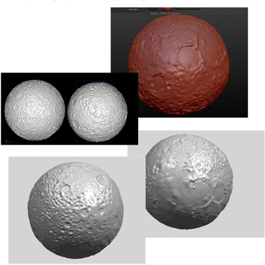 Koobysix Silikonform Gie/ßformen Planet Moon Sky Sphere Kosmische Kugel Harz Anh/änger Form Silikon Epoxidharz Formen
