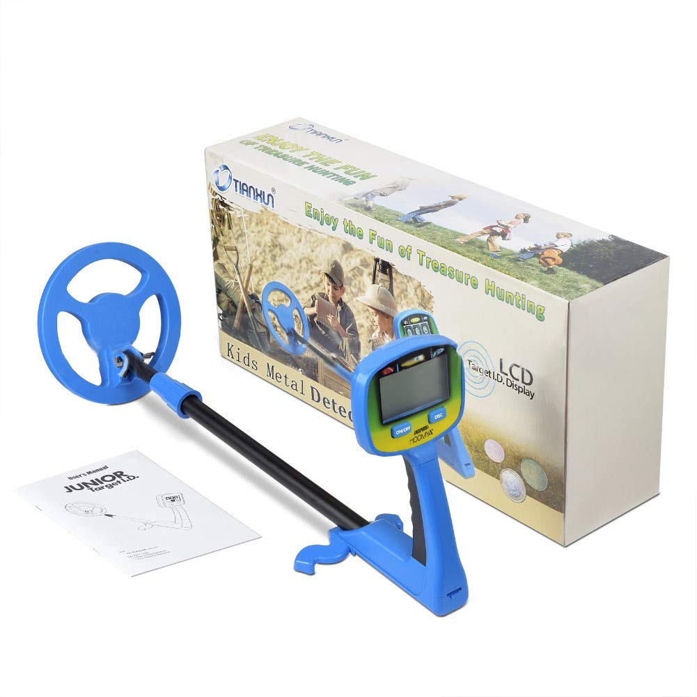 Amazon.com: TMISHION Metal Detector for Children, Find Coins Artifacts Treasures, Easy-to-Use LCD Metal Detector for Kids and Beginners Kid Toy Gift: Sports ...