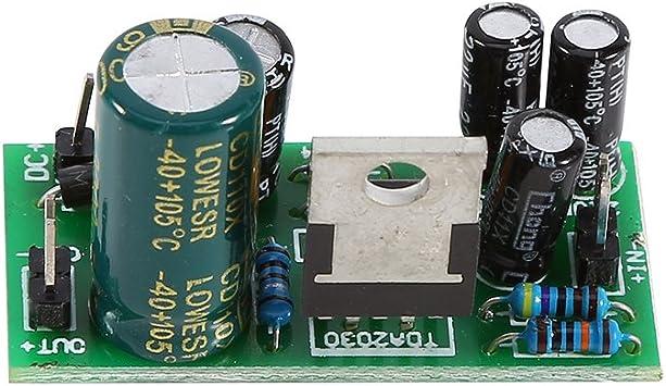 TDA2030A Kit Electronic Audio Power Amplifier Board Mono 18W DC 9-24V DIY