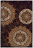 Modern Area Rugs Brown Rug for Living Room Rugs 5×7 Clearance Review
