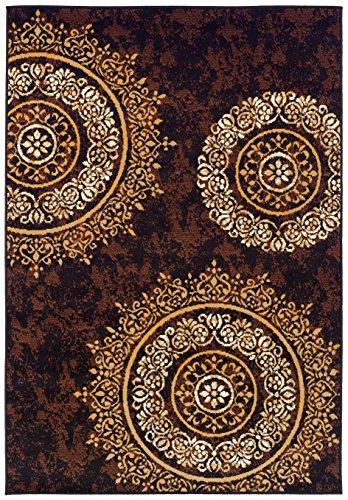 Modern Area Rugs Brown Rug for Living Room Rugs 5x7 Clearance