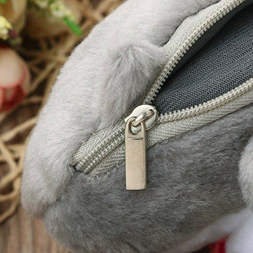 Change Cat JESPER Plush Grey Bag Multicoloured Purse Purse Butt Tail Cute Coin C0xwpgqBw