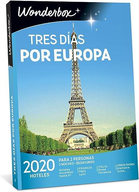 WONDERBOX Caja Regalo -Tres DÍAS por Europa- 2.020 hoteles para ...