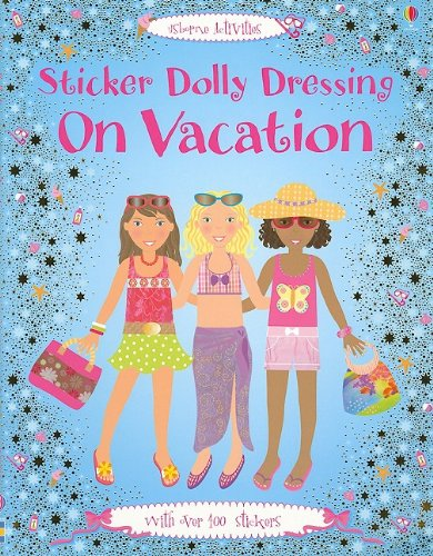 Sticker Dolly Dressing on Vacation ()