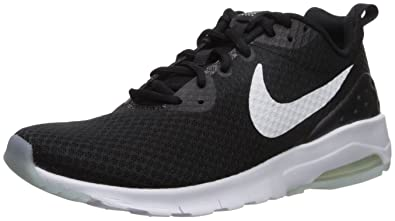 the best attitude b77a2 eb6f7 Nike Women s Air Max Motion LW Running Shoe, Black White, ...