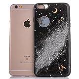 Best IKASEFU Iphone 6 Case Purples - IKASEFU Bling Glitter Diamond Sparkle Nebula Space Universe Review