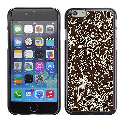 "Premio Sottile Slim Cassa Custodia Case Cover Shell // V00002528 motif floral // Apple iPhone 6 6S 6G 4.7"""