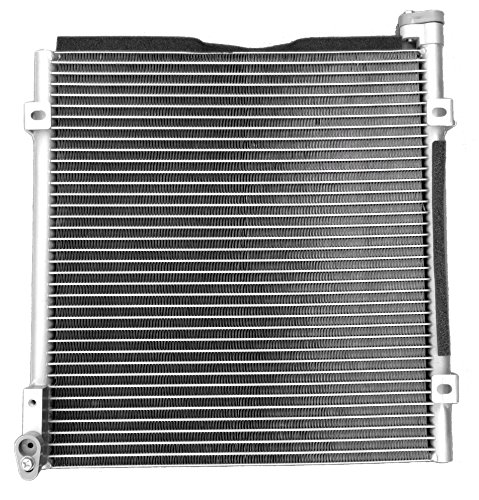 cciyu AC Condenser 4730 Fits for 1996-2000 Acura EL Base Sedan Honda Civic L4 1.6L (Honda Civic Base)