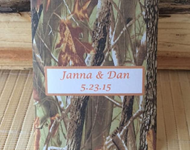 Amazon Camouflage Wedding Seed Packets 50 Count Camo Favors