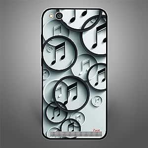 Zoot BnW Music Designer Phone Cover for Xiaomi Redmi 5A