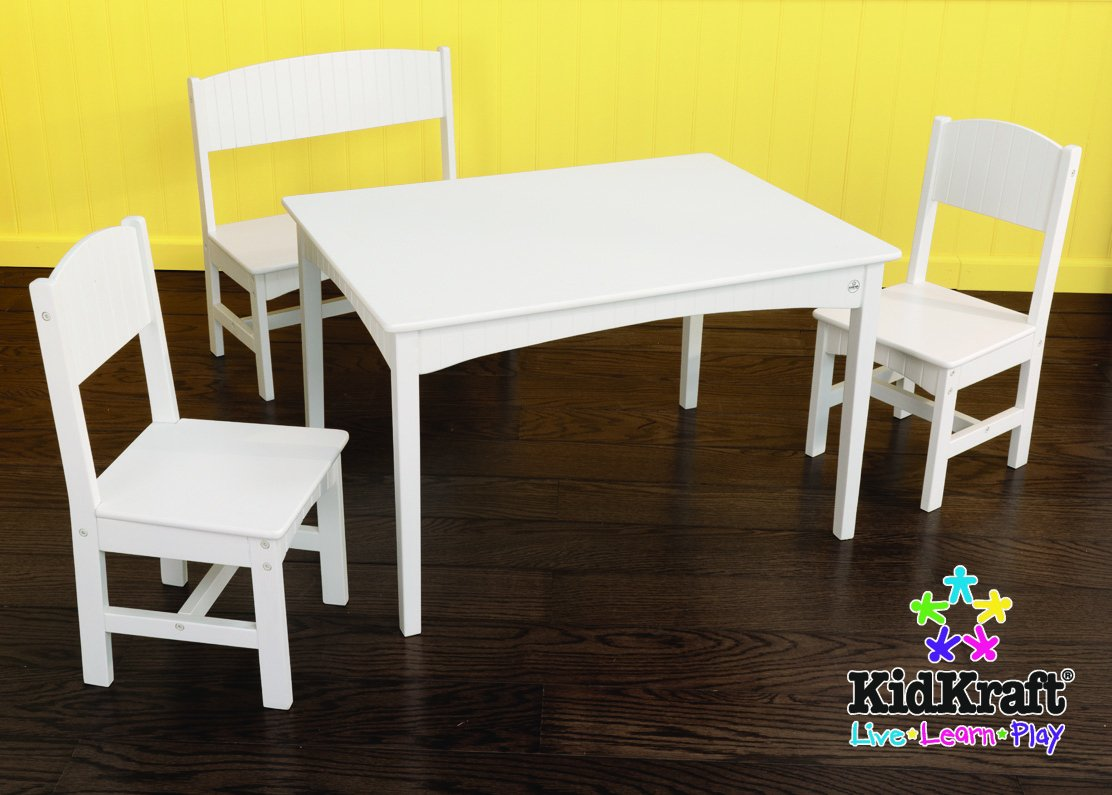 KidKraft Nantucket Table with Bench and Chairs by KidKraft