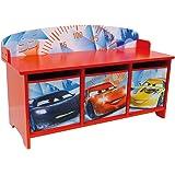 FUN HOUSE  - 712365  - DISNEY CARS Banc avec Bacs De Rangement pour enfant