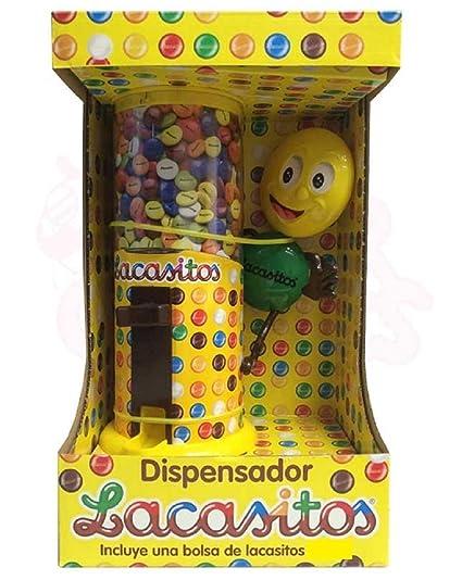 ALMACENESADAN 9984, Dispensador de lacasitos, grajeas de Chocolate recubiertas de una Fina Capa de