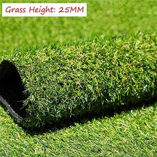 XIAODONG 高密度 合成芝生25MM スタジアムターフ 人工芝 アクティビティ装飾 水抜き穴付き 強い耐久性 2 * 1M (Size : 2*1m)