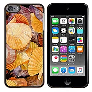 Jordan Colourful Shop - rakushki more bereg rakovina For Apple iPod Touch 6 6th Generation Personalizado negro cubierta de la caja de pl????stico