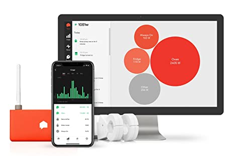 Sense Energy Monitor: Electricity Usage Monitor To Track Energy Usage in  Real Time