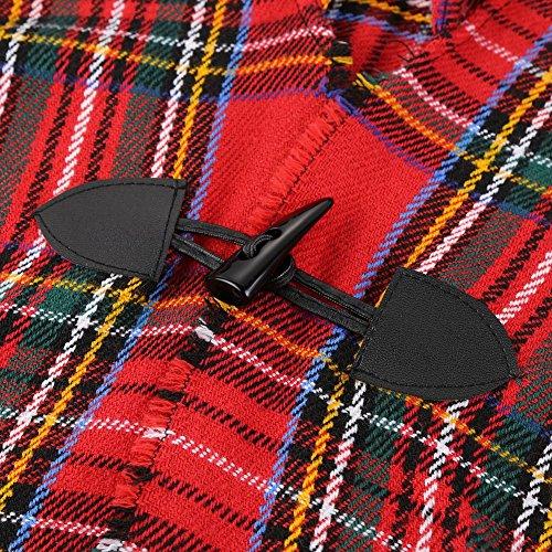 Cappotto Fantasia Vintage Top Scialle Geometrica Boemia Mantellina WFwS46qW