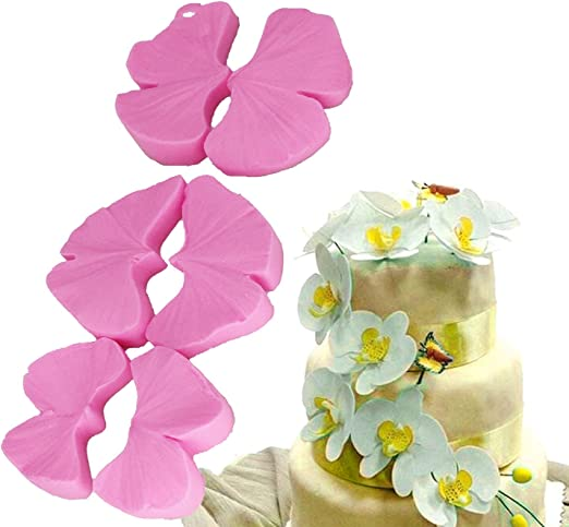 Flower Petal Silicone Fondant Mold Cake Decorating Chocolate Baking Mould Tools