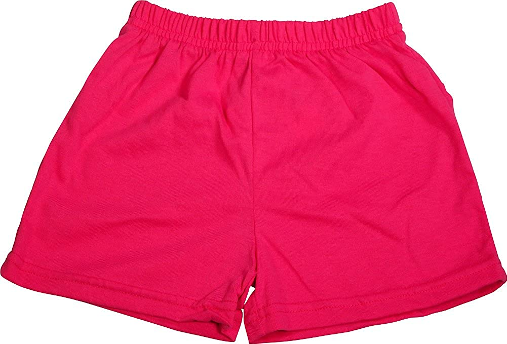 Private Label Little Girls Jersey Knit Gym Shorts