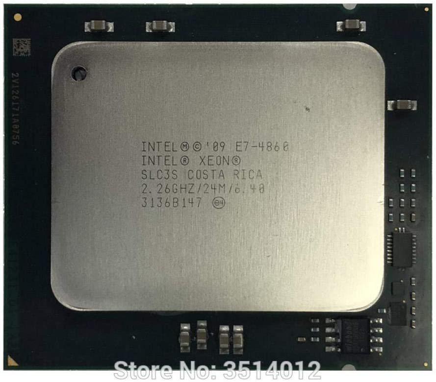 Intel Xeon E7-4860 E7 4860 2.2 GHz Ten-Core Twenty-Thread CPU Processor 24M 130W LGA 1567