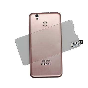 PREVOA ® 丨 Protector para OUKITEL U7 Plus - Original Protector de Pantalla Cristal Templado para OUKITEL U7 Plus MTK6737 Android 6.0 Smartphone -