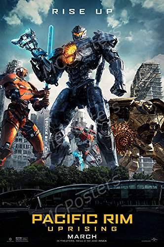 MCPosters - Pacific Rim Uprising Movie Poster Glossy Finish - MCP063 (24