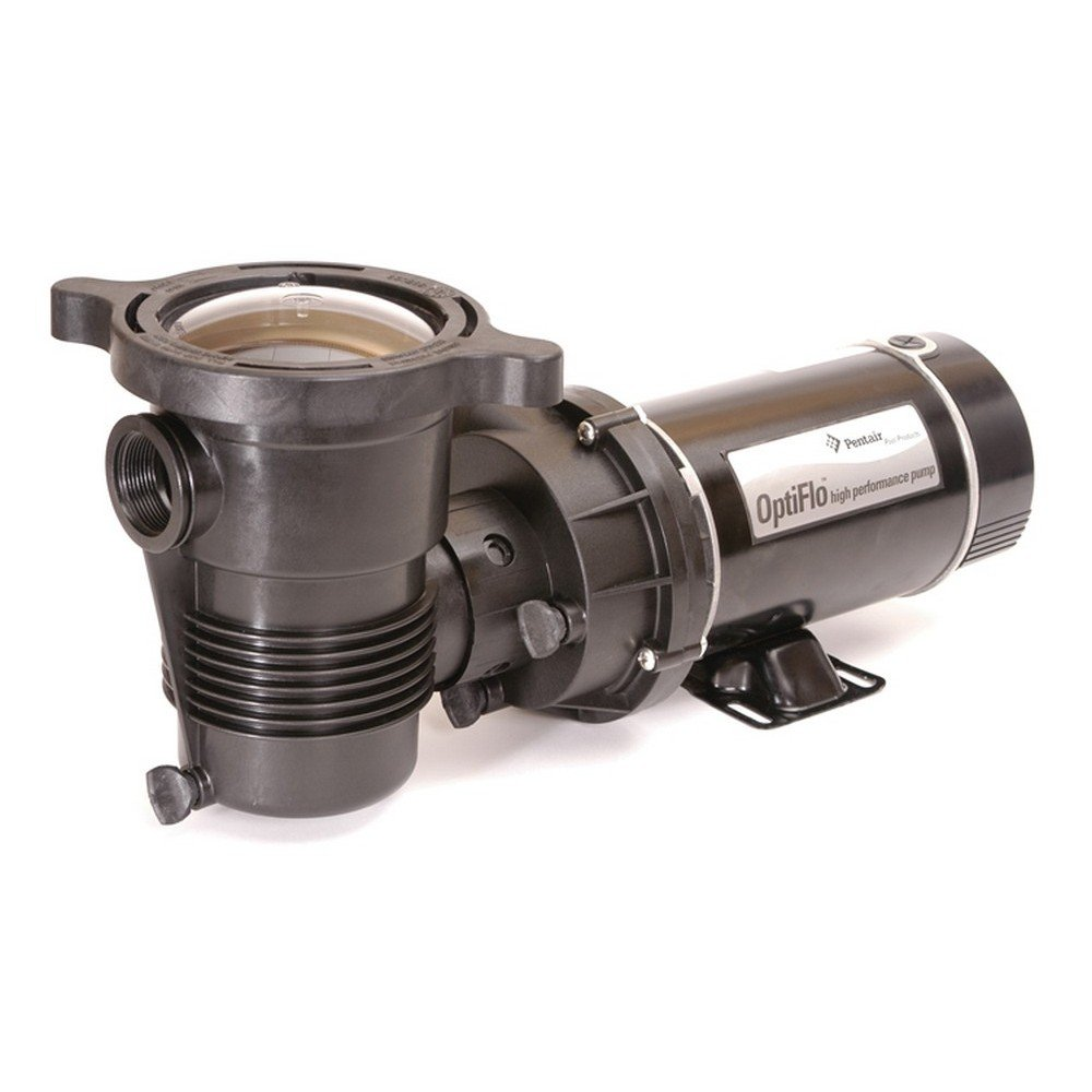 B004VU8GII Pentair 347983 OptiFlo Horizontal Discharge Aboveground Pool Pump with Cord and Standard Plug, 1-1/2 HP 61geZ2BGPmFL._SL1000_