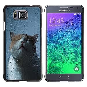 Dragon Case - FOR Samsung ALPHA G850 - Proud of my heart - Caja protectora de pl??stico duro de la cubierta Dise?¡Ào Slim Fit