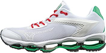 e97075ba3d54 Automobili Lamborghini by Mizuno Wave Tenjin Running Shoes White