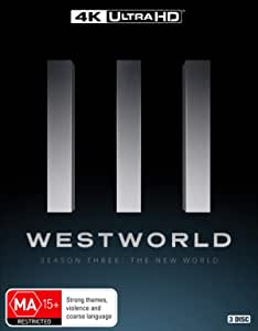 Westworld: Season 3 (4K UHD + Blu-ray)