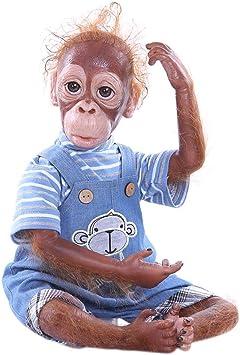 Reborn Baby Monkey Doll 20 Inch 52cm Soft Silicone Realistic