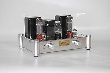 BOYUURANGE Reisong A12 EL34 12AX7 (ECC83) Hi-Fi Audio Stereo Single-end Class - A Tube Amplifier Amp