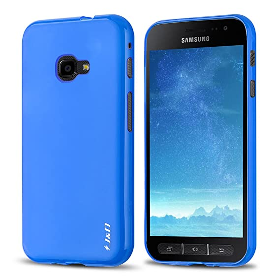cheap for discount c7221 449d9 J&D Case Compatible for Galaxy Xcover 4 Case, [Drop Protection] [Slim  Cushion] Shock Resistant Protective TPU Slim Case for Samsung Galaxy Xcover  4 ...