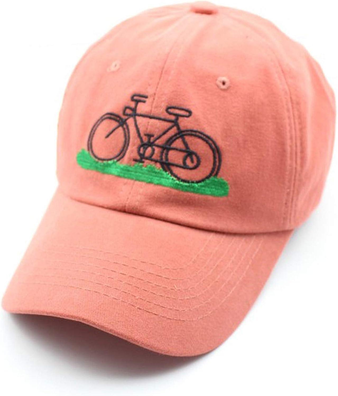 Women Baseball caps Summer Girl Bicycle Print Hip Hop Visor Hat Cotton Casquette Casual Lady Cap