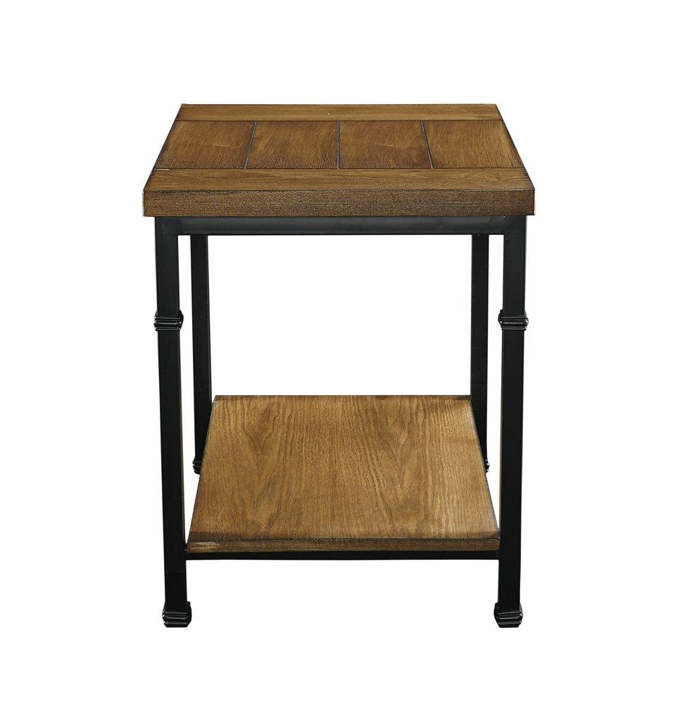 Linon AMZN0305 Rhett End Table Black