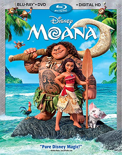 Moana Blu-ray DVD Digital HD