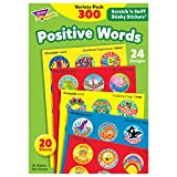 #9: TREND enterprises, Inc. Positive Words Stinky Stickers Variety Pack, 300 ct