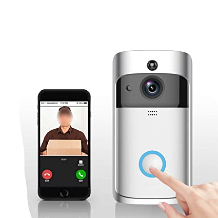 Amazon com: Smart Video Doorbell Wireless Battery Outdoor