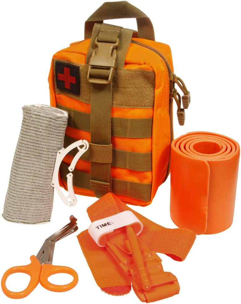 ASATechMed Emergency Survival Trauma Medical Kit with Tourniquet 36