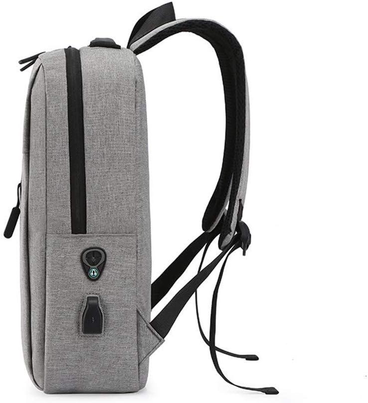 HongTeng USB Charging Backpack Casual Business Mens Bag Notebook Backpack Bag Color : Blue