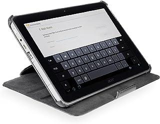 StilGut UltraSlim Case V2, custodia con funzione di supporto per Acer Iconia Tab A510 & Iconia Tab A511 & Iconia Tab A700, nero