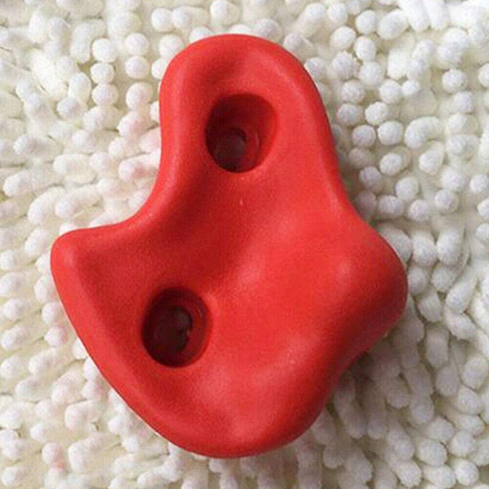 Climbing Holds Rock Wall Stones Holds Grip for Kids Indoor Outdoor